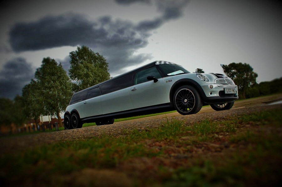 Mini Cooper S Limo Hire Crystal Chauffeurs