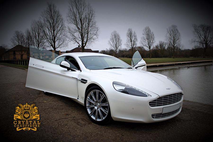 Lovely White Aston Martin
