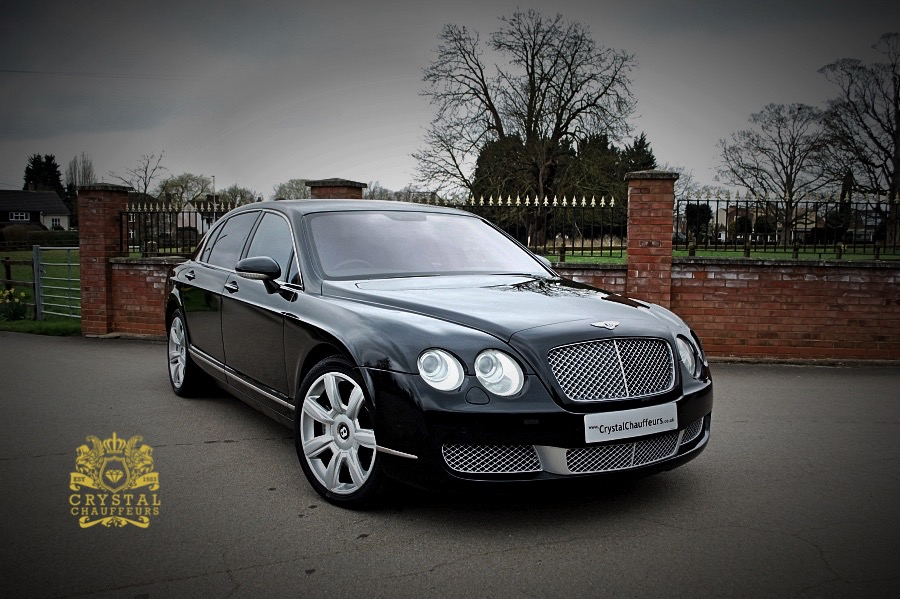 Black Bentley Continental Flying Spur