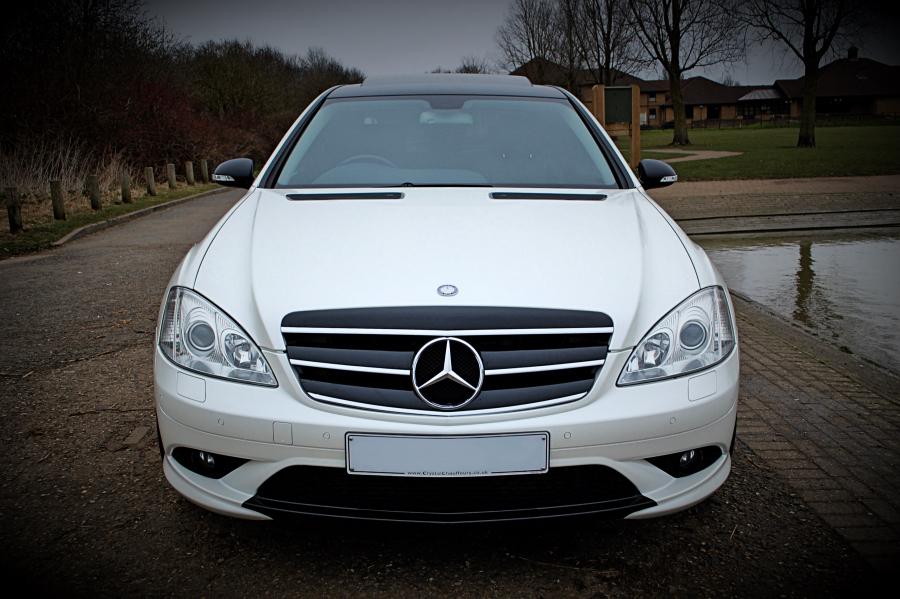 Mercedes s class white