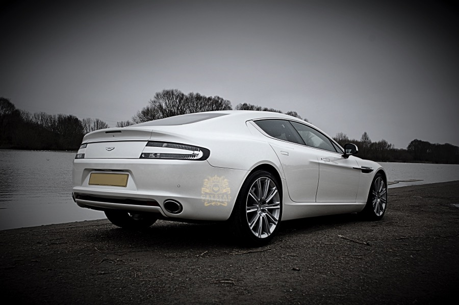 ... White Aston Martin ...