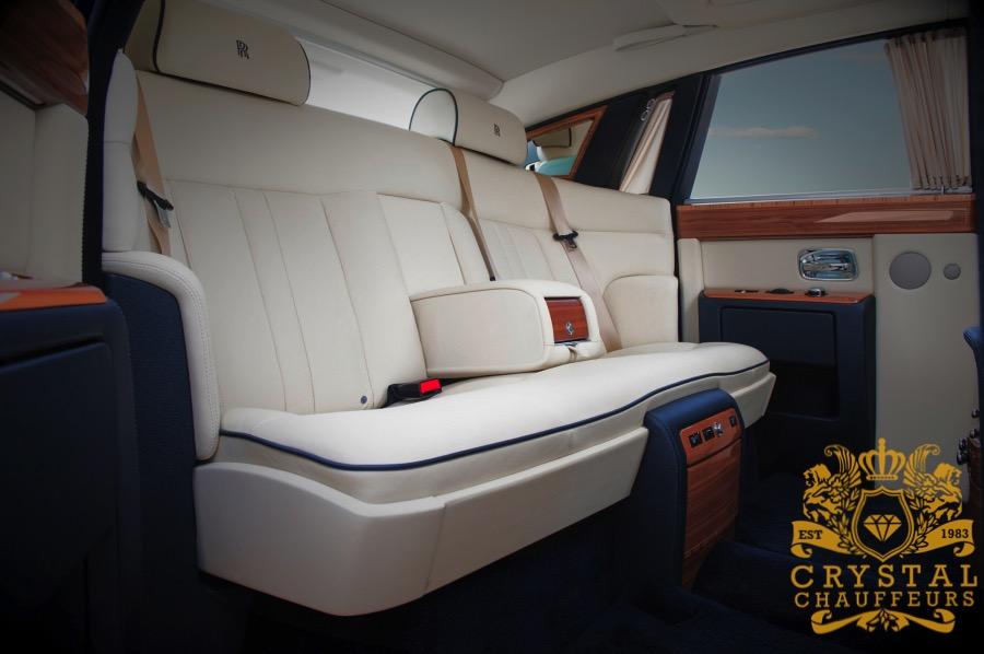 Grey Rolls Royce Phantom