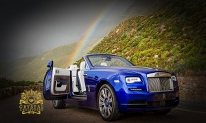 BLUE Rolls Royce Dawn