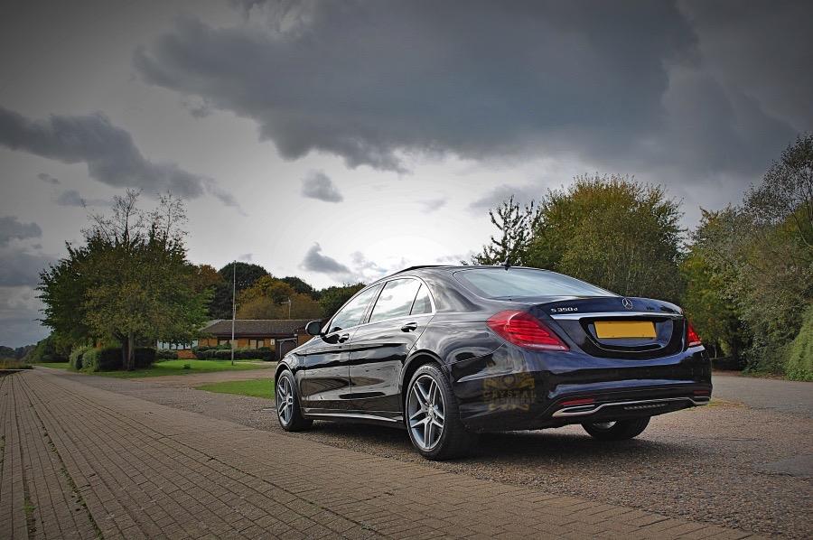 Black Mercedes S Class