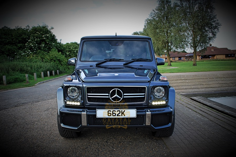 Mercedes g wagon amg chauffeur wedding car hire for Mercedes benz g class amg