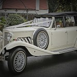 White Beauford Tourer