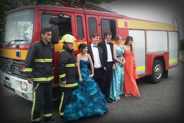 Red Fire Engine Limo Hire