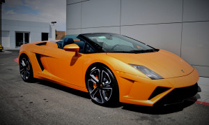 Lamborghini LP560-4 Spider Wedding Car Hire