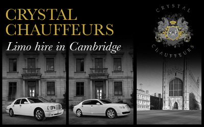 Executive Limo and Wedding Car Hire Cambridge