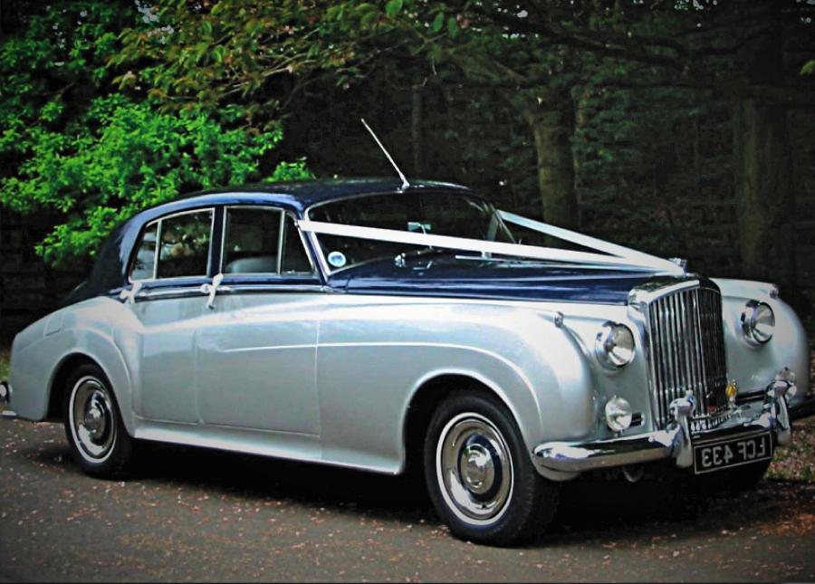 Bentley S1 Wedding Car Hire Crystal Chauffeurs