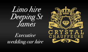 Executive Limo Wedding Car Hire Deeping St James