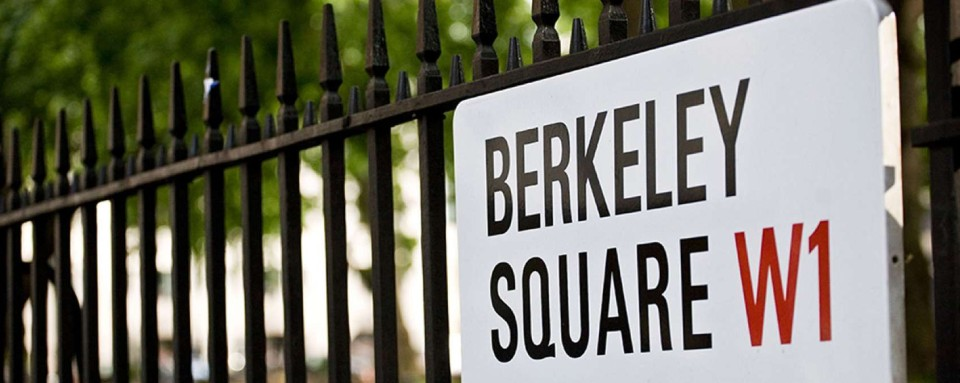 Berkeley Square the Home of Crystal Chauffeurs London