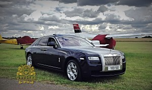 Purple Rolls Royce Ghost 1-1