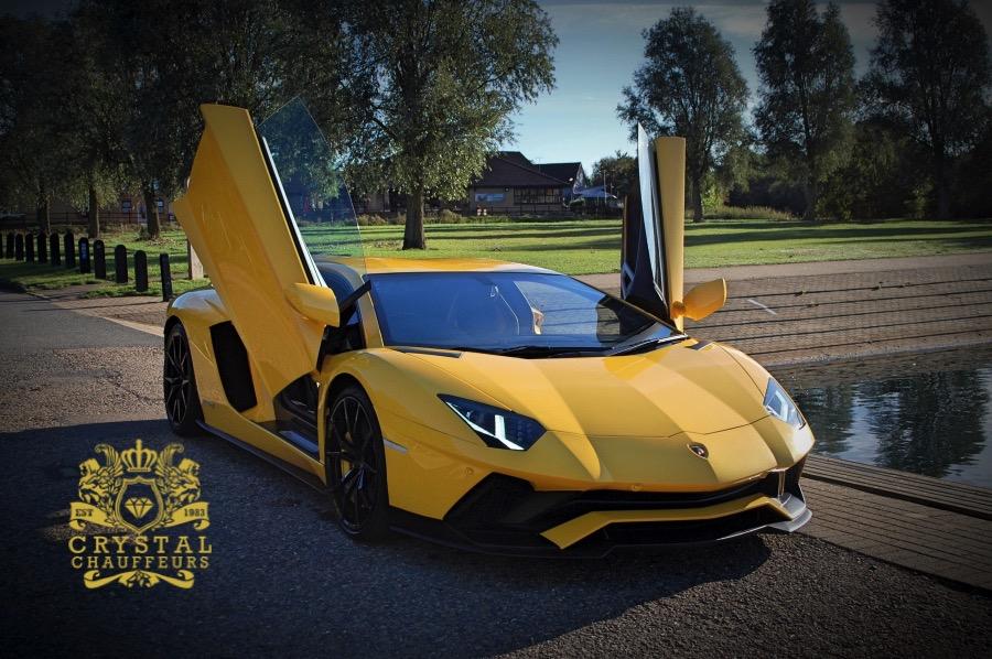 Lamborghini Aventador S Hire Crystal Chauffeurs