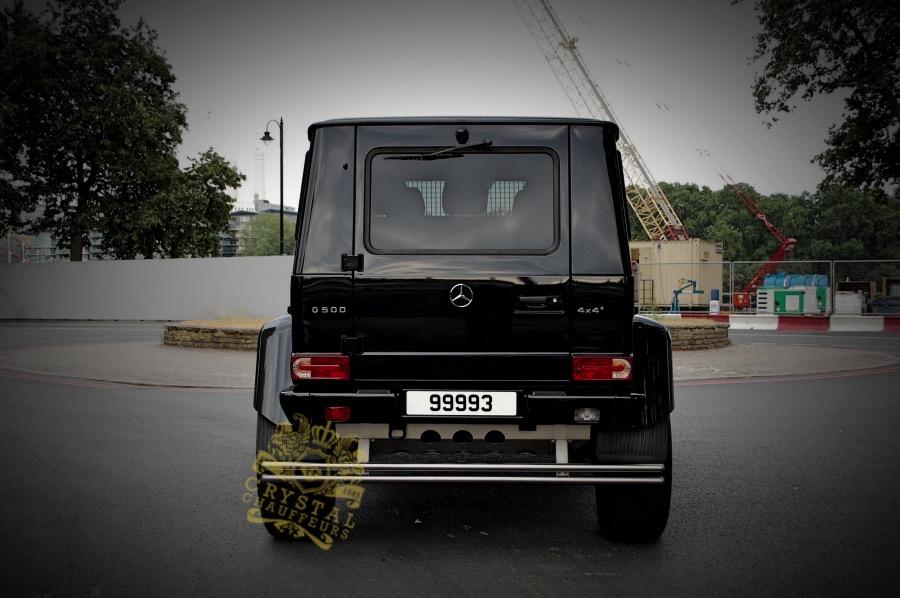 Mercedes G500 4×4 Squared